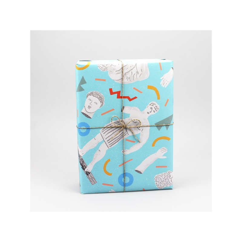 Paquet cadeau Flamants Roses