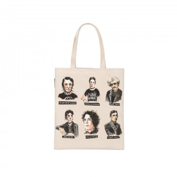 Tote bag Punk Rock Authors - Out of Print