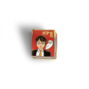 Badge Livre Harry Potter - Ideal Bookshelf