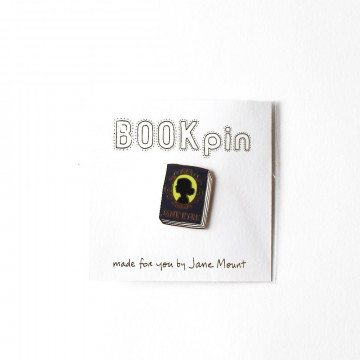 Badge Livre Jane Eyre - Ideal Bookshelf