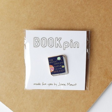 Badge Livre Le Guide du Voyageur Galactique - Ideal Bookshelf
