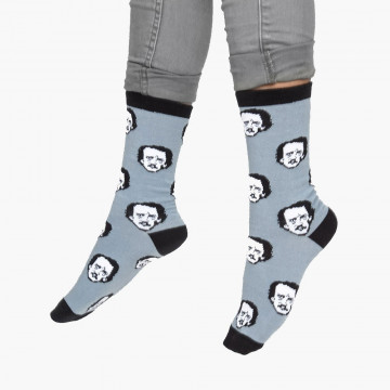 Chaussettes Edgar Allan Poe - Out of Print