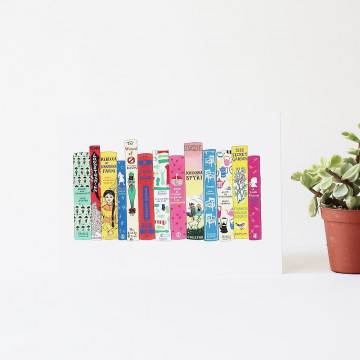 Carte Postale Livres - Ideal Bookshelf