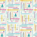 Wrapping Paper Literary Life - Chronicle Books