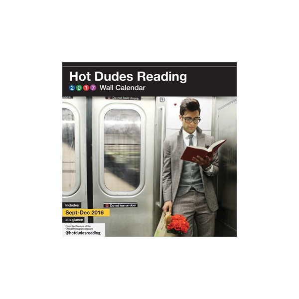 Calendrier 2017 Hot Dudes Reading