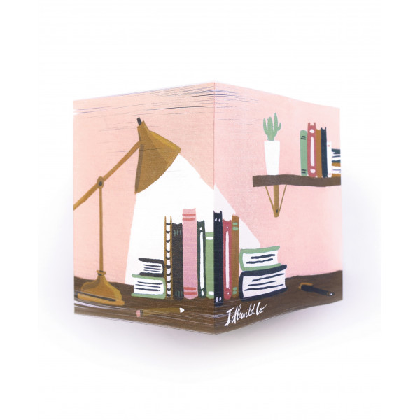 Cube de post-it Bibliothèque - Idlewild Co