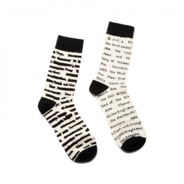Chaussettes Livres Interdits - Out of Print