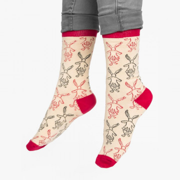 Chaussettes Alice - Out of Print