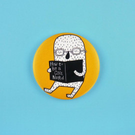 Badge How to be a cool nerd