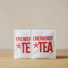 Sachet de thé Emergency Tea