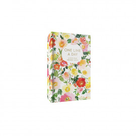 Carnet Floral One Line a Day
