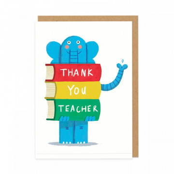 Carte Thank you Teacher