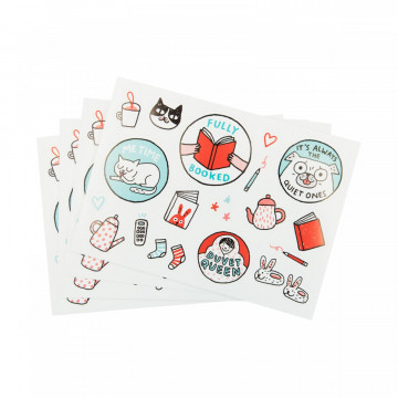 Set de stickers The Great Indoors