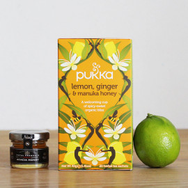 Infusion Citron Gingembre & Miel - Pukka