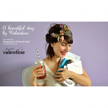 A beautiful Day with Valentine - Version Food, Things & Tote